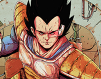 Vegeta - Fan Art
