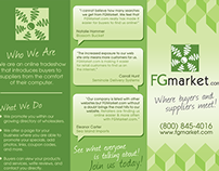 FGmarket Booklet Design