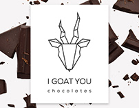 I Goat You - Chocolate Packaging