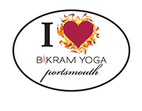 Bikram Yoga Portsmouth Bumpersticker