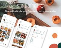 UI/ Ux/ App/ Shared Kitchen