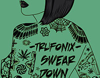 Tru Fonix - Swear Down EP Cover