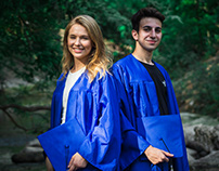 Felipe & Gabrielle #Grad Photoshoot - Class of 2020