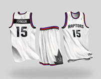 Toronto Raptors Uniform Concept