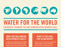 Water for the World Infographic