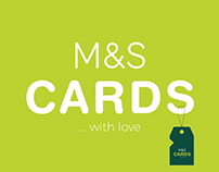 M&S Greeting Card Branding.