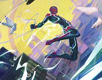 Spider-Man Velocity COVER