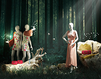 Enchanted forest (Gucci window display)
