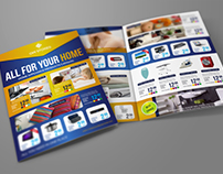 Products Catalog Bi-Fold Brochure Template