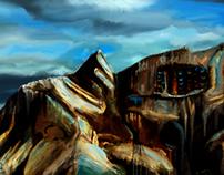 Concept Art, Cave Dwellings
