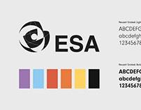 ESA Rebrand / Launch Campaign