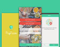 PayCrave mobile concept