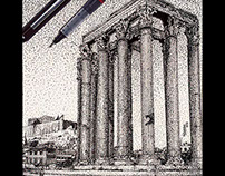 Pen Art - Pointillism