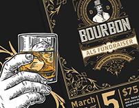 Bourbon ALS Fundraiser Invite