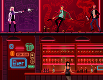 Atomic Blonde Game