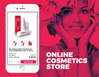 Swiss cosmetics online store.