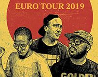 Awon, Phoniks & Anti Lilly Tourposter 2019