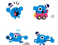 Mr.Joe Animated Stickers