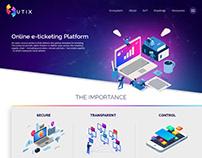 UTIX (Landing Page)