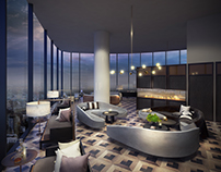 Melbourne Penthouses with Dark Asia style