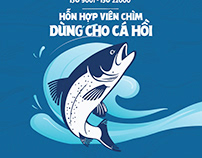 Thiết kế bao bì sản phẩm thức ăn cho cá