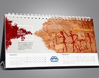 Proposed Calendar Design on Color of Arts to Adamjee