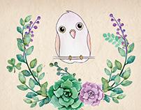 כרטיסי ברכה | Colorful illustrated greeting card