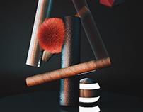 3D - FLUFFY - BALLS
