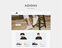 Adidas - Website Redesign Concept