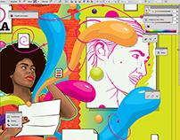 Grafitte Magazine Illustration