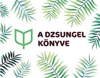 The Jungle's Book musical visual identity