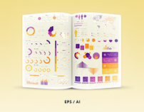 Infographic Elements Template - Vector Pack