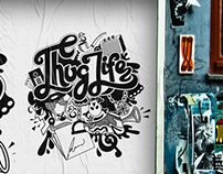Thug Life ! Typogrpahy