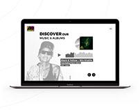 Atlantic Records - MusicPLZ - School project