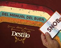 Cerveza Destilo - Manual del buen snob