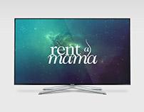Rent a Mama logo tasarımı