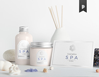 SPA Cosmetics Mock-Up