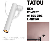 TATOU - bedside lamp family from FLUA