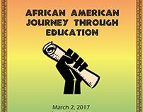 Black History Month Performance Flyer