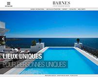Barnes app design
