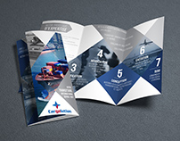 2 fold brochures for Cargolution