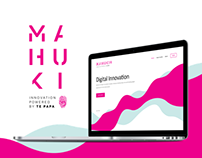 Mahuki Website Concept