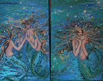 Mermaid baubles
