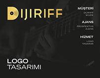 Dijiriff Müzik Logo Tasarımı