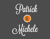 Michele & Patrick - Convite de casamento