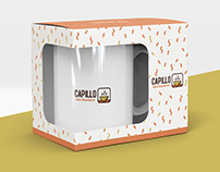 Capillo Cafe&Restaurant Logo and Identity