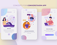 On-boarding of Conversation App