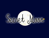 Secret Moon - Logo & Business Card for Jewellery Store.