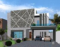 1 Kanal Exterior House Designs