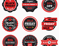 "Free ""Black Friday"" Banners, Labels and Flyers"